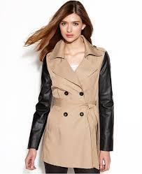 rachel roy mixed media faux leather