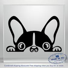 French Bulldog Decal Sticker Cute Fun Frenchie Dog Car Window Vinyl Bouledogue Ebay