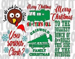 national lampoon christmas vacation set of svg clark griswold