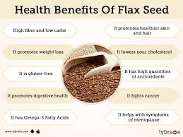 benefits of flax seed and its side