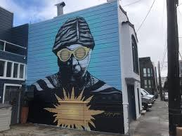 "Larry-bob on Twitter: ""Sun Ra mural by goya goon, 376 Ivy, Hayes Valley,  #SF… """