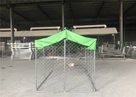 Dog Kennel Cheap Chain Link Dog Kennels Chain Link Portable Yard Kennel For Sale Chain Wire Fencing Manufacturer From China 108934502
