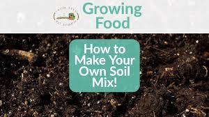 own diy organic raised bed soil mix