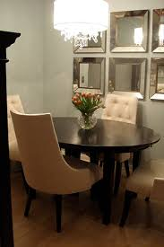 oval dining table transitional