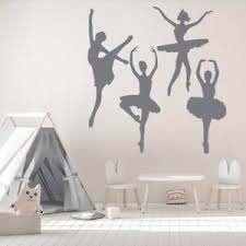 Ballet Dancers Ballerina Wall Sticker Set Ws 33332 Ebay