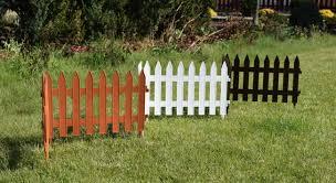 3 2m Plastic Garden Fence Panels Garden Fencing Lawn Edging Plant Border Ebay
