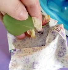 homemade potpourri and sachet bags
