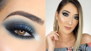 eye makeup tutorials for dark blue eyes
