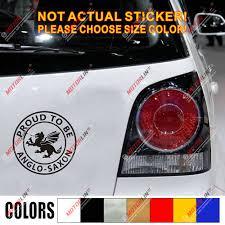Anglo Saxon White Dragon Decal Sticker England Proud To Be English Car Vinyl Car Stickers Aliexpress