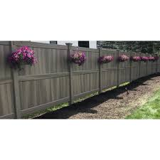 Modern Outdoor Products 6 Ft H X 8 Ft W Vinyl Fence Panel Wayfair Ca