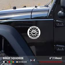 Rogue Squadron Star Wars Rebel Alliance X Wing Car Vinyl Sticker Decal Ebay
