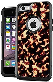 Amazon Com Teleskins Protective Designer Vinyl Skin Decals Stickers Compatible With Otterbox Commuter Iphone 6 Plus Iphone 6s Plus Case Tortoise Shell Design Pattern Only Skins And Not Case