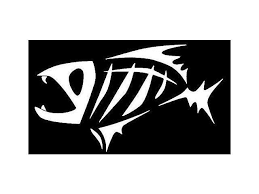 Fish Skeleton G Loomis Vinyl Decal Sticker Cars Trucks Vans Walls Laptops White 5 5 In Kcd547 Newegg Com