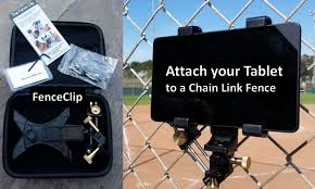 Attach Your Tablet To A Chain Link Fence Chain Link Fence Gopro Camera Case Fence