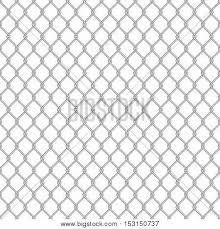 Chainlink Fence Vector Photo Free Trial Bigstock