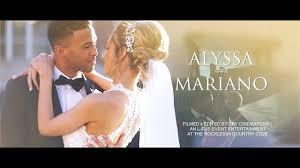 wedding of alyssa and mariano iii at