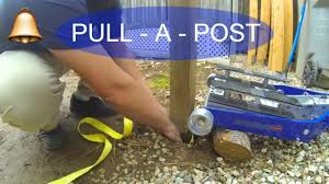 Remove A Fence Post With A Harbor Freight Jack How To 1 Youtube
