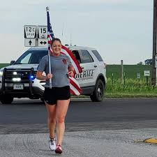 Lee-Smith and Samek represent Butler County in torch run | Sports ...