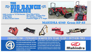 2018 mahindra 2545 tractor package deal