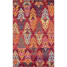 stylewell sedona desert rust red multi