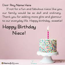 most special birthday wishes for niece her