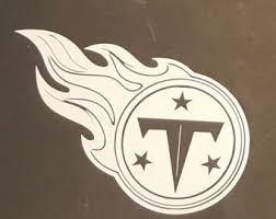 Tennessee Titans Nfl Car Window Decal Sticker Truck Laptop 5 5 X4