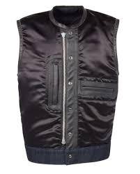 denim club vest espinoza s leather