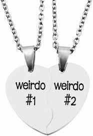 split valentine heart weirdo 1 2 best