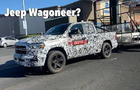2021 Jeep Grand Wagoneer Prototype ...