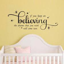 Cinderella Wall Quote Decal If You Keep On Believing Girls Nursery Fairytale Inspirational Quote Wall Art Decor Vinyl Decal Vinyl Decal Wall Quotesdecorative Vinyl Aliexpress