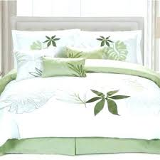 emerald green comforter set hunter