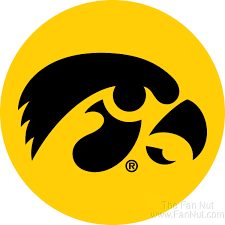 Iowa Hawkeyes Rr 4 Round Vinyl Decal Auto Home Window Glass University Of For Sale Online
