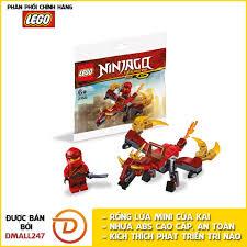 Bộ đồ chơi lắp ráp rồng lửa mini của Kai Lego NinjaGo 30535 ...