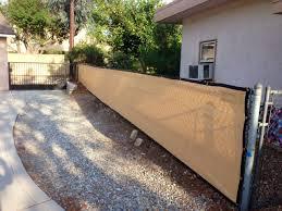 Amazon Com 6ft X 50ft Golden Tan Privacy Fence Screen Shade Cloth 85 Blockage Garden Outdoor