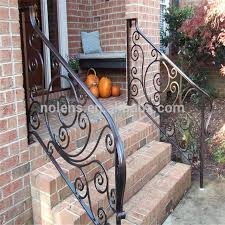 Customized Tube Grill Wrought Iron Railing Panels Designs For Front Porch Buy High Quality Porch Iron Railing Handrail For Porch Steps Front Porch Railings Product On Alibaba Com