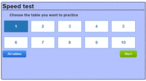 multiplication tables with times tables