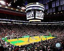 celtics td garden 8 x 10 basketball