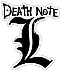 Death Note L Light Ryuk Anime Vinyl Sticker Decal Car Laptop Window En 2020 Pegatinas Bonitas Pegatinas Kawaii Pegatinas Imprimibles