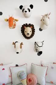 6 Totally Fresh Decorating Ideas For The Kids Playroom Animal Head Decor Kid Room Decor Kids Playroom Decor