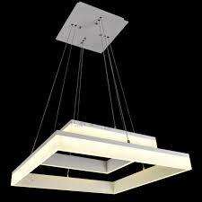 modern square shaped led kitchen
