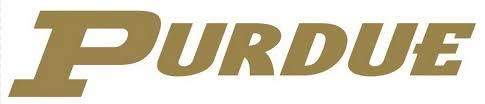 Ncaa0474 Purdue Boilermakers Script Logo Die Cut Vinyl Graphic Decal Sticker