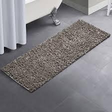 vcny glossy paper bath rug set