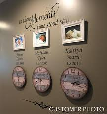 Wall Decal In These Moments Custom Family Names Dates
