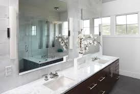 bathrooms oval bath smart mirror wall