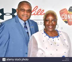 Tommie Smith and Delois Jordan-Smith arrives at the First Annual ...