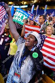 GREEN Mississippi delegate Addie Green waves US Editorial Stock ...