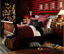 dressing the bed in tartan ralph