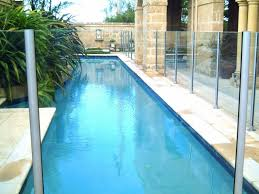 semi frameless glass pool fence gallery