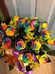 rainbow roses in huntington ny funky