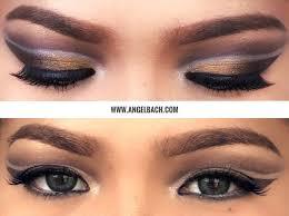 cutcrease makeup look angel bach